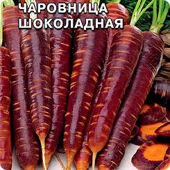 Семена Морковь Чаровница Шоколадная, 0,1 г, СеДеК