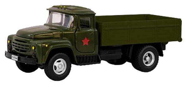 Купить Инерционный военный грузовик PLAYSMART Зил, 1:52, Военный транспорт