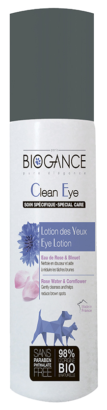 Средства по уходу за глазами питомца BIOGANCE Clean Eyes Био-лосьон для кошек 100 мл