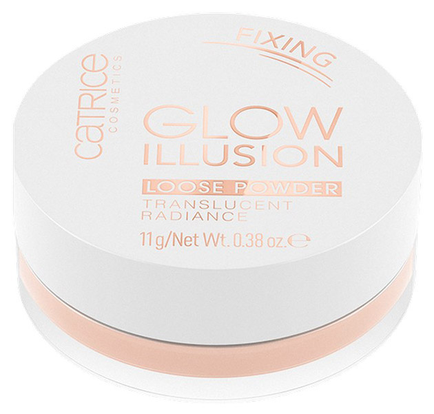 Пудра CATRICE Glow Illusion Loose Powder Translucent
