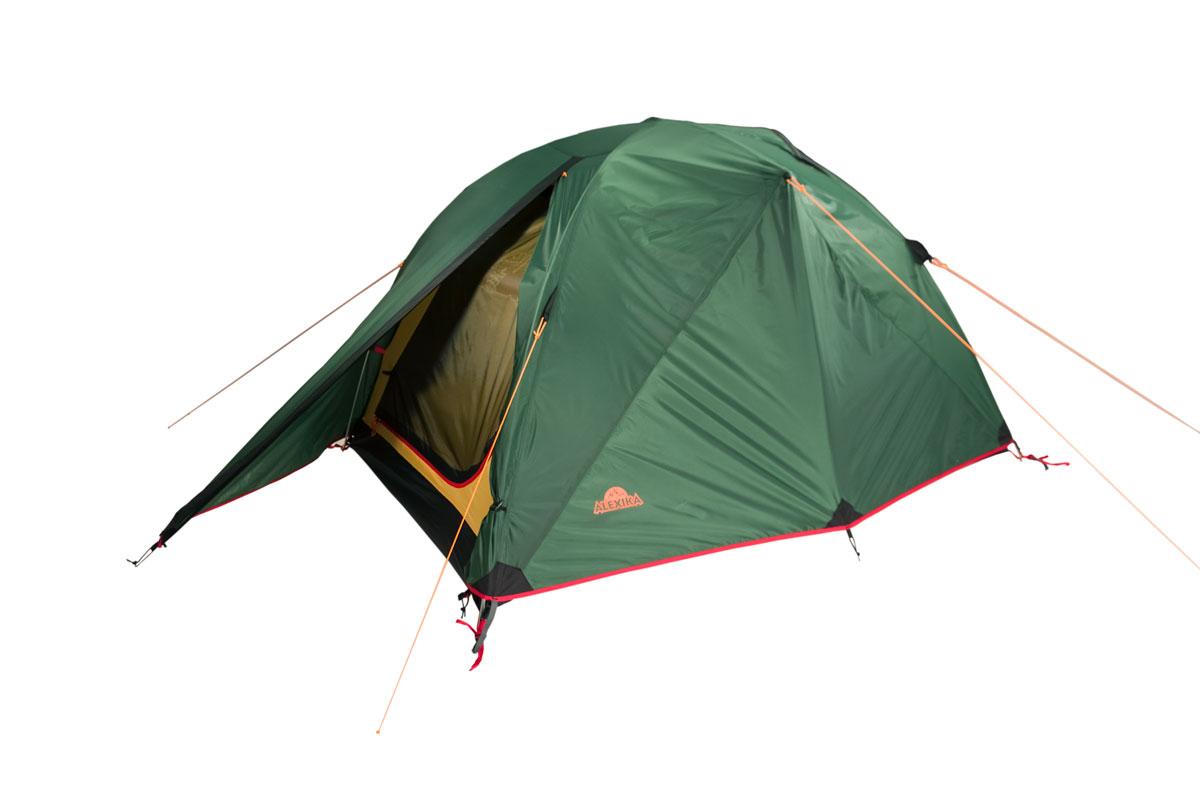 Палатка Alexika Karok 2 двухместная зеленая