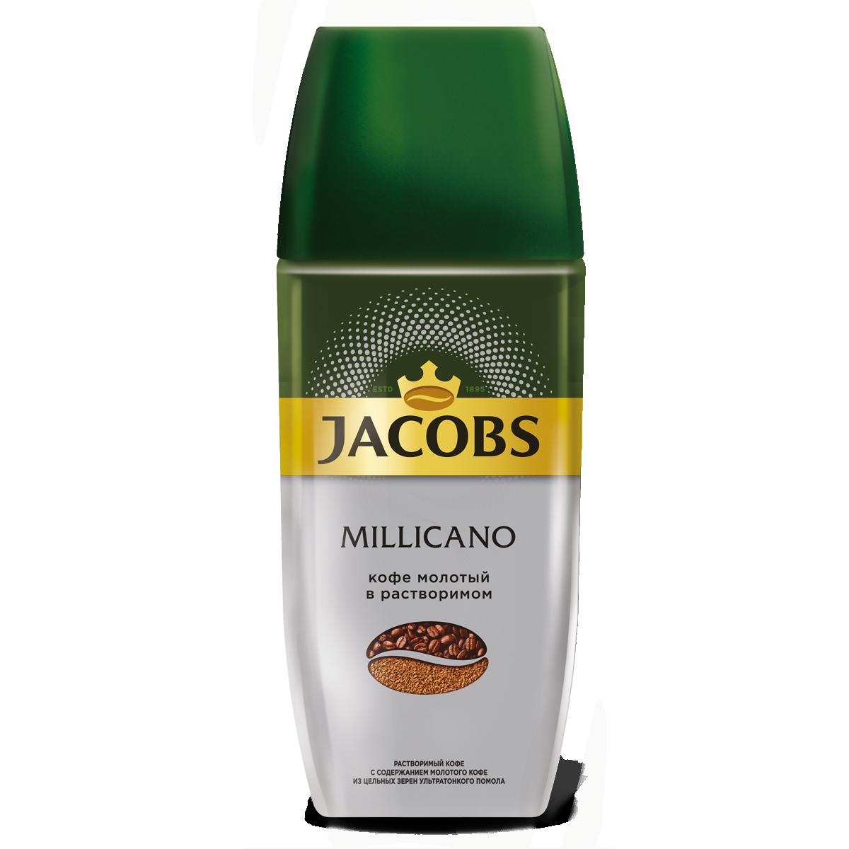Кофе растворимый Jacobs monarch millicano 95 г