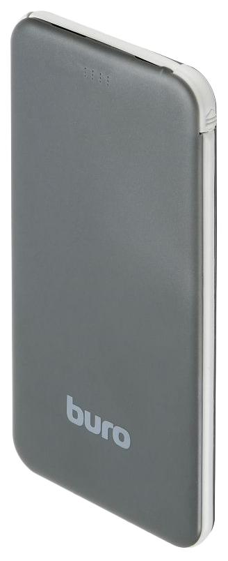 Внешний аккумулятор BURO RCL-5000-BB 5000 мА/ч Grey/Black