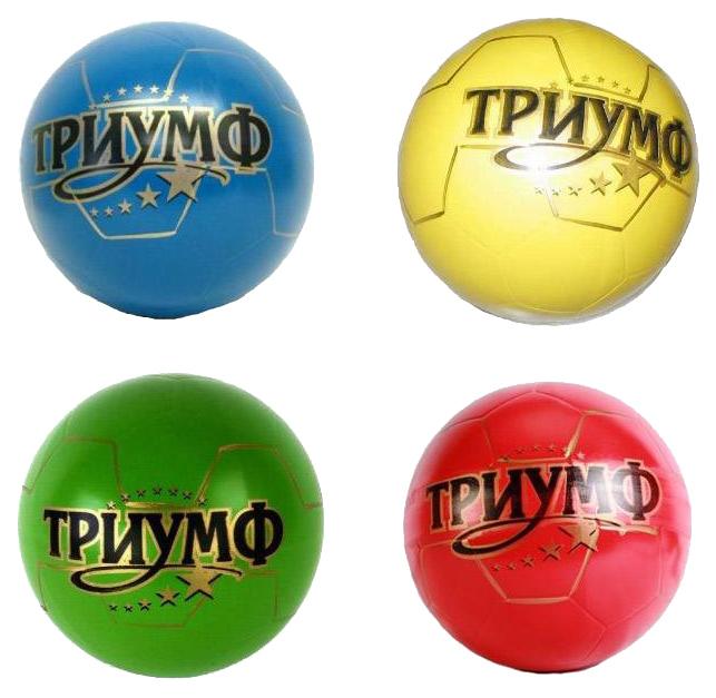Мячик детский Чебоксарский завод с-133ЛП Синий, желтый, зеленый,красный, черный