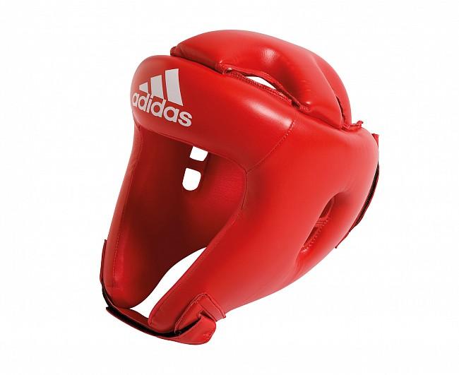 Шлем боксерский Adidas Competition Head Guard красный L фото
