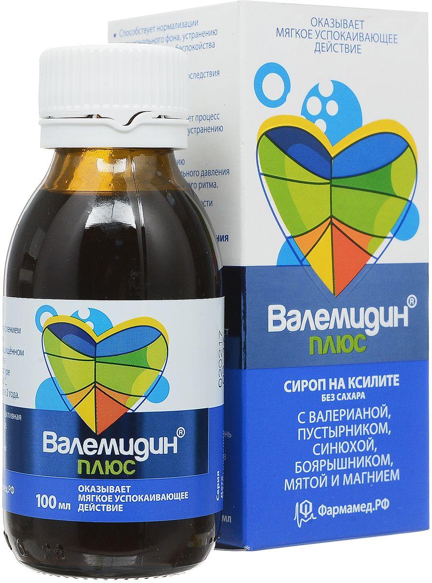 Валемидин Плюс PharmaMed сироп без сахара 100 мл