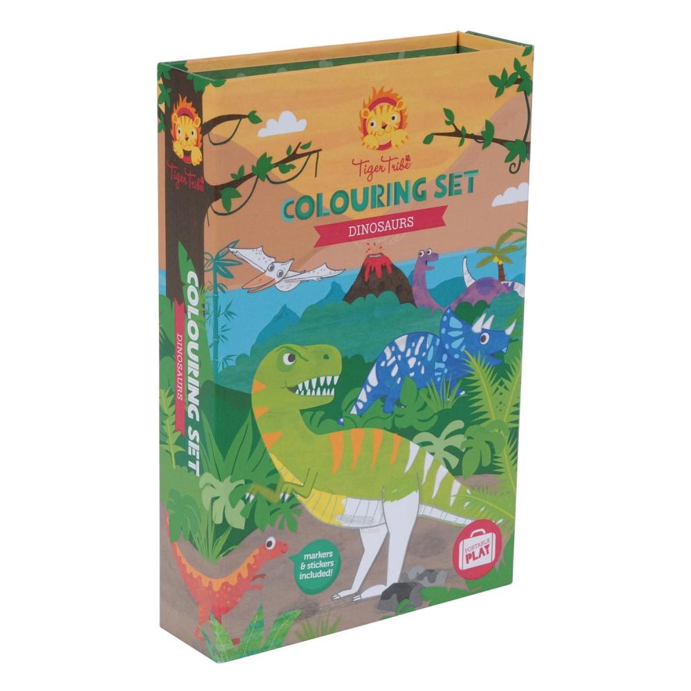 Набор для рисования Tiger tribe динозавры