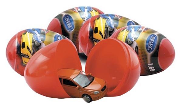 Коллекционная модель Welly 52020E Яйцо-сюрприз в ассортименте