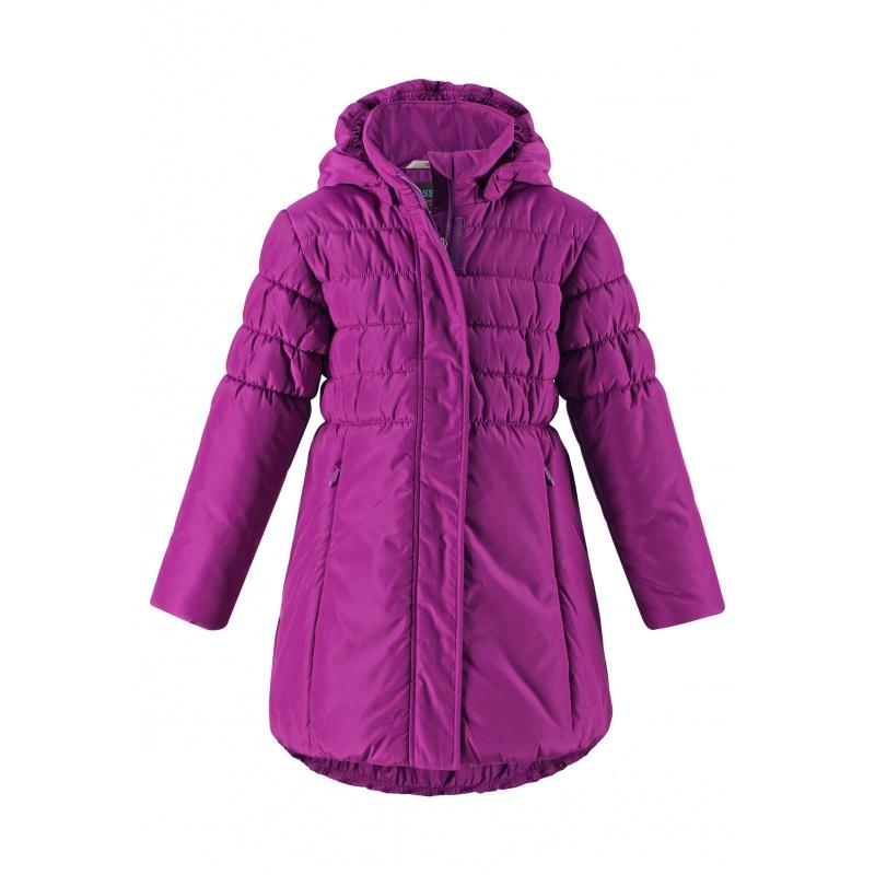 Купить 721738-5580, Пальто LASSIE by REIMA Фиолетовый р.128, Пальто для девочек