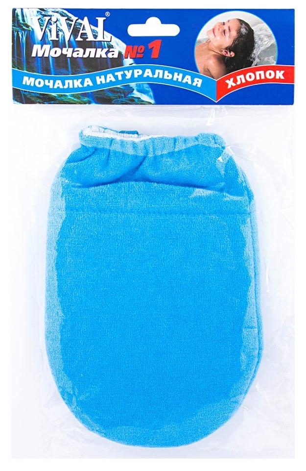 Мочалка для тела VIVAL Махровая рукавица без пальца