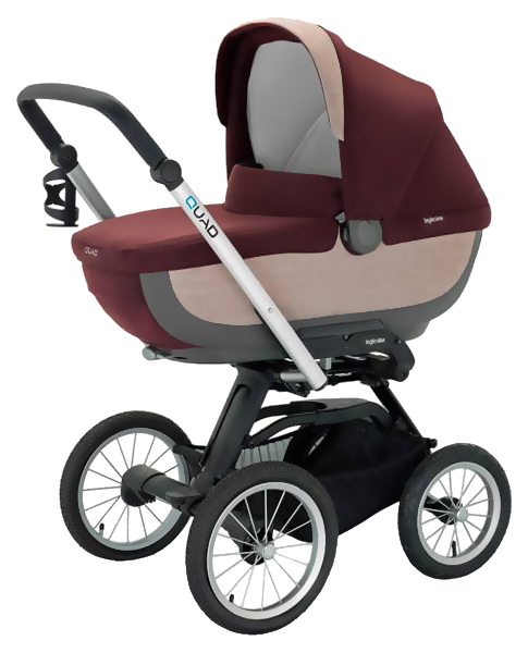 Купить Коляска для новорожденного Inglesina Quad AB60F6PTG + AE64G0000 Patagonia, Коляски для новорожденных