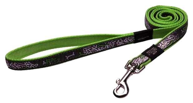 Поводок для собак Rogz для маленьких собак, зеленоватый, 180 см