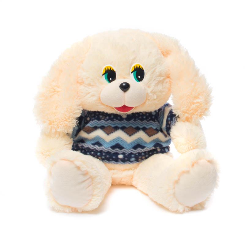Купить Мягкая игрушка Собачка в кофте 55 см Нижегородская игрушка См-701-5, Мягкие игрушки животные