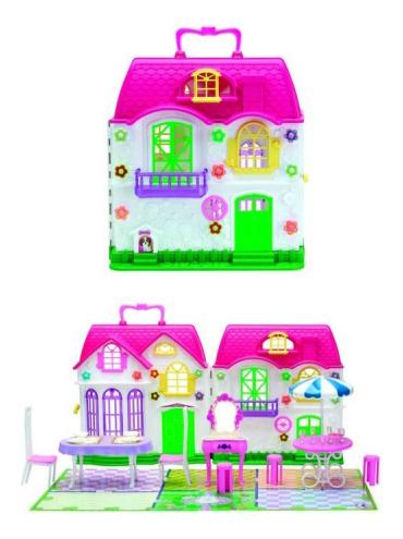 Красотка Кукольный дом 1 Toy с мебелью, 1 секция,29 дет