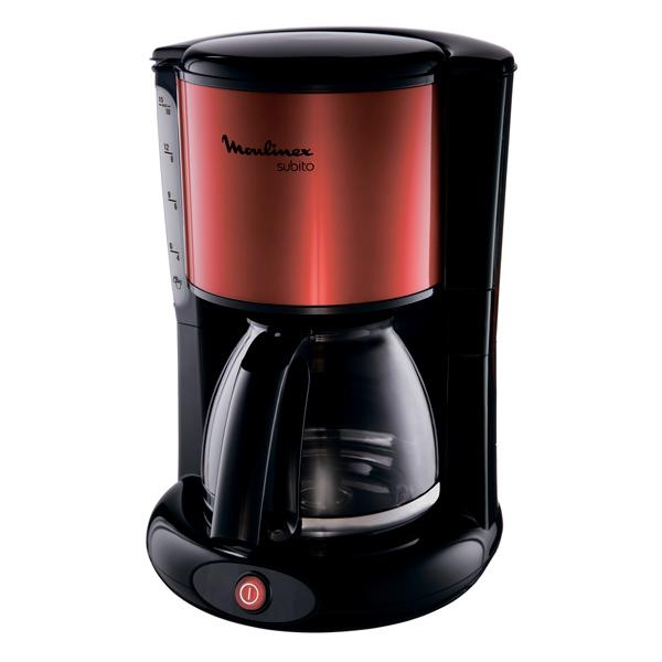 Кофеварка капельного типа Moulinex Subito Red/Black