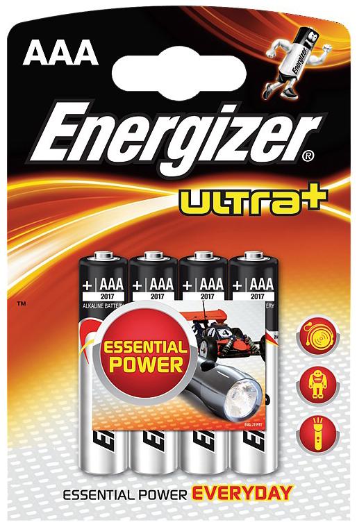 Батарейка Energizer Ultra+ LR03FSB4 4 шт