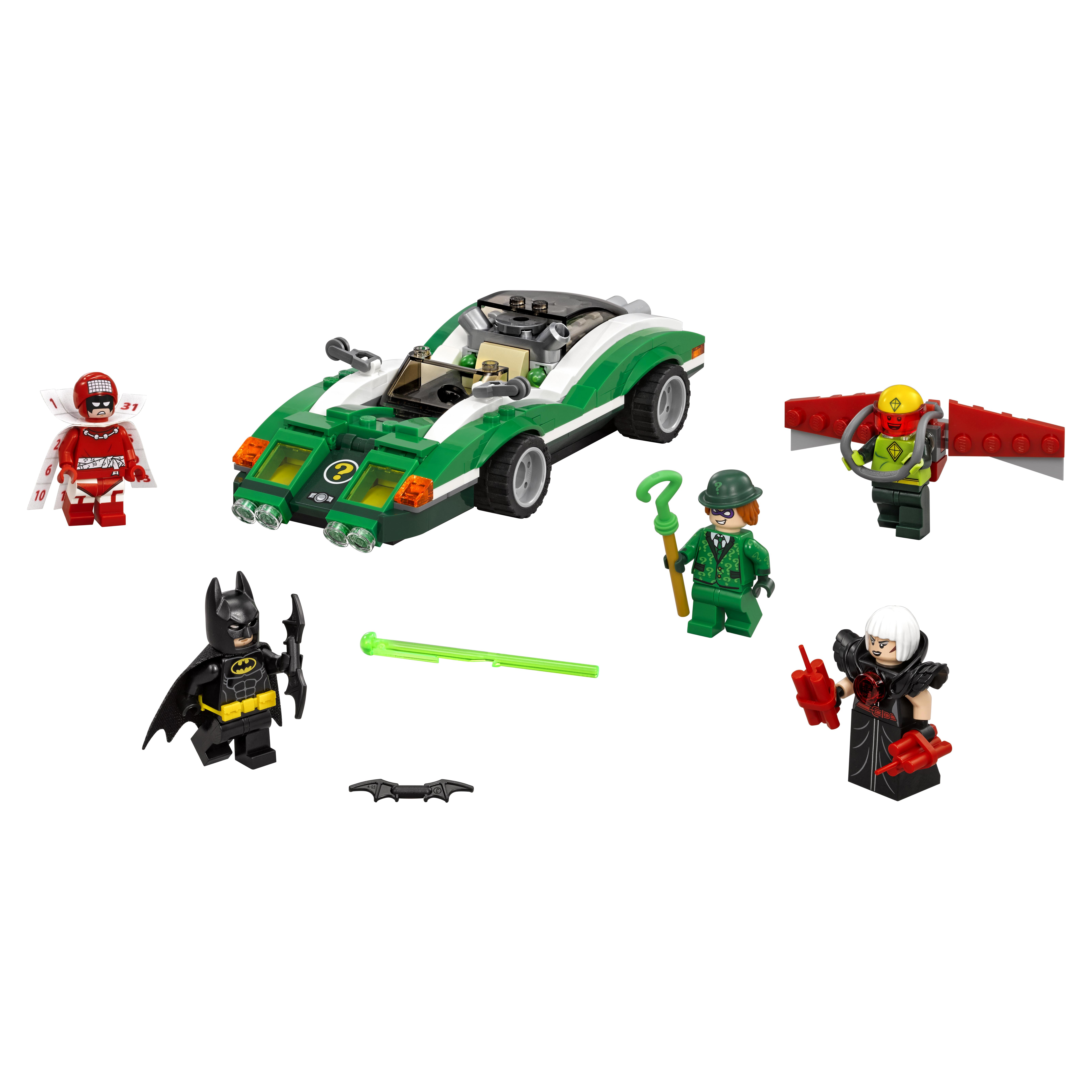 Конструктор LEGO Batman Movie Гоночный автомобиль Загадочника (70903) фото