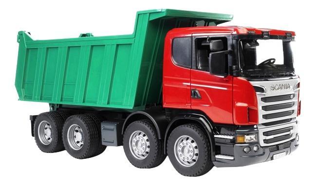 Купить Самосвал Bruder Scania,
