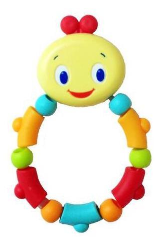 Купить Гусеничка, Развивающая Прорезыватель-игрушка – прорезыватель Bright Starts гусеничка, оранжевая,