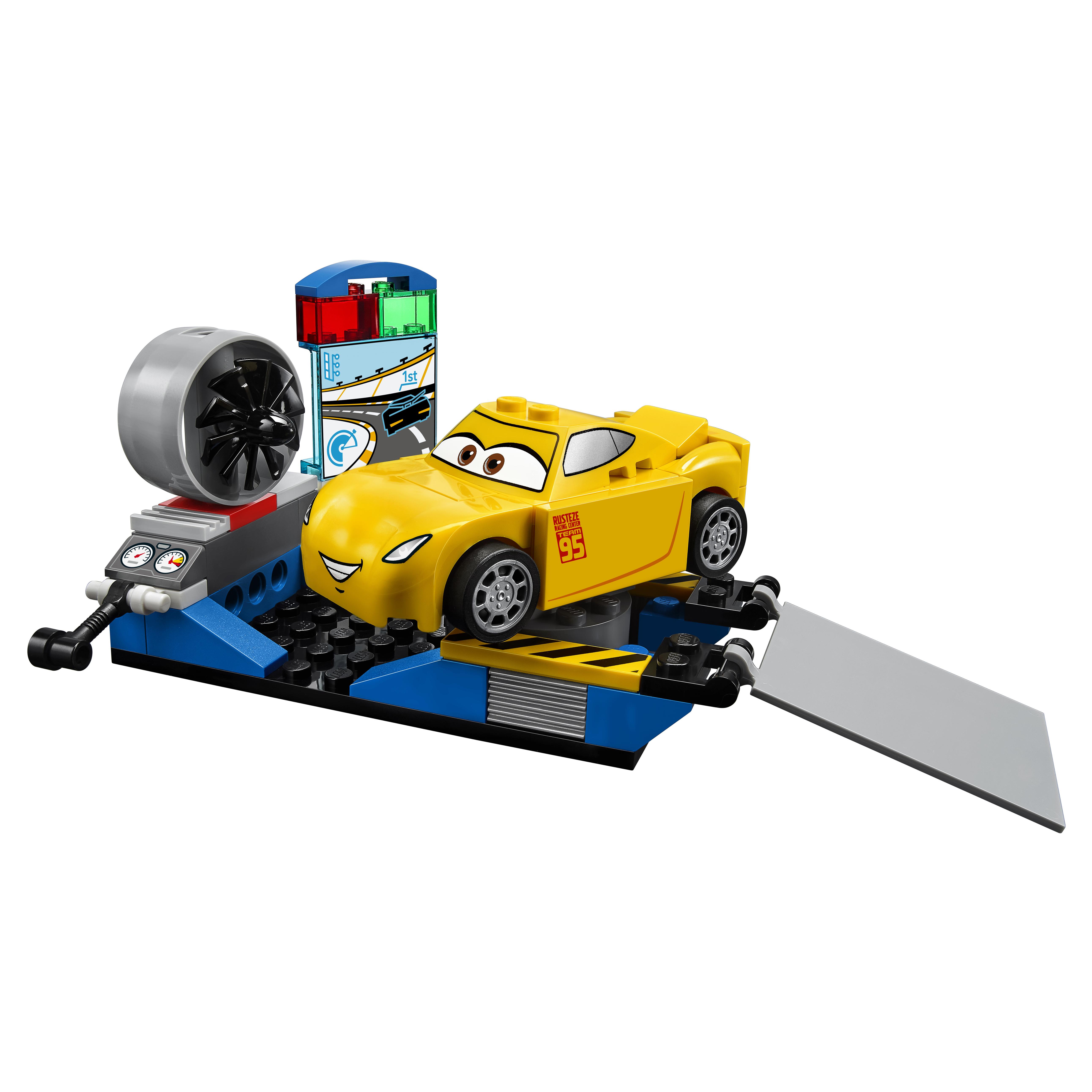 Конструктор LEGO Juniors Гоночный тренажёр Крус Рамирес (10731) фото