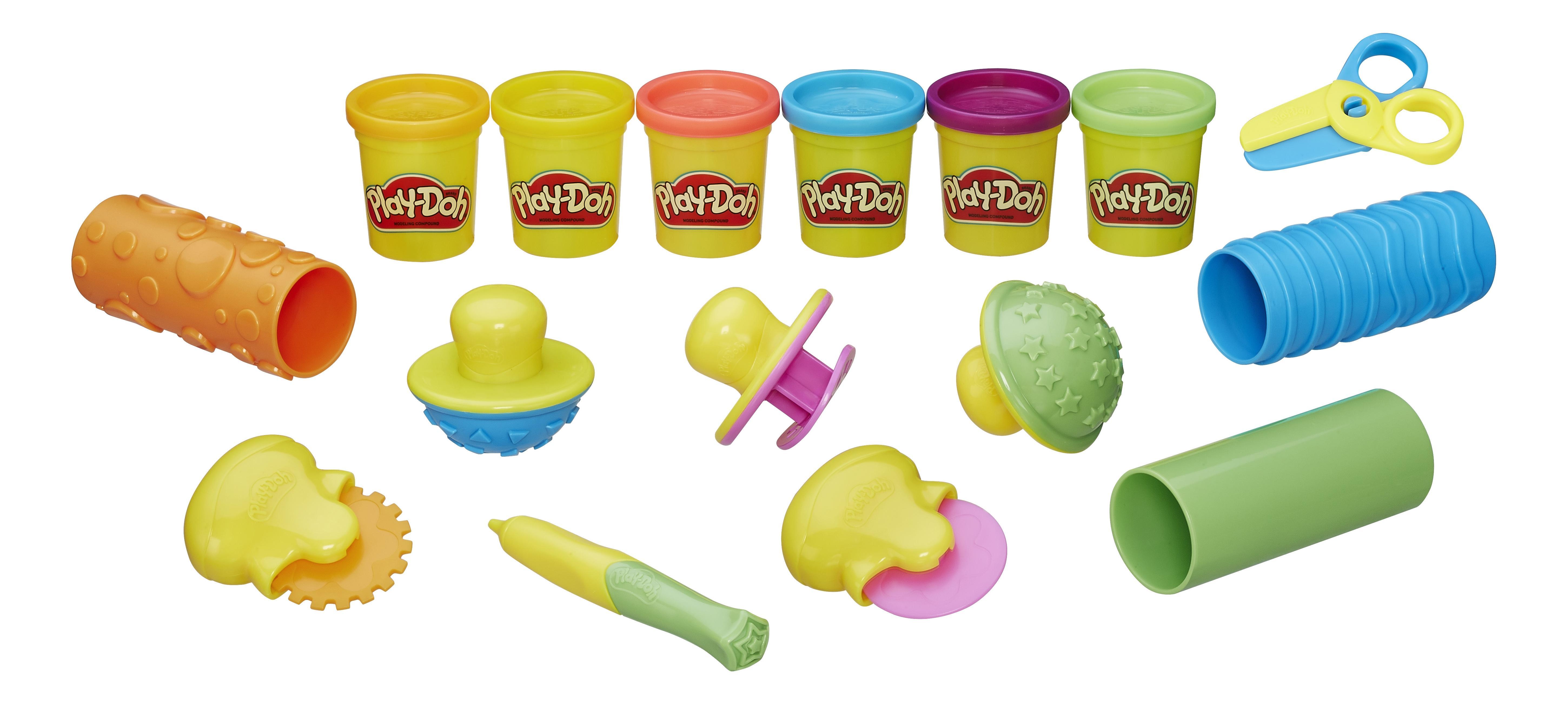 Купить Набор для лепки из пластилина play-doh b3408, Лепка