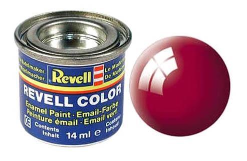 Эмалевая краска красная-феррари глянцевая