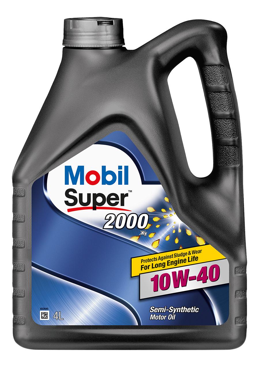Моторное масло Mobil Super 2000 X1 10W-40 4л