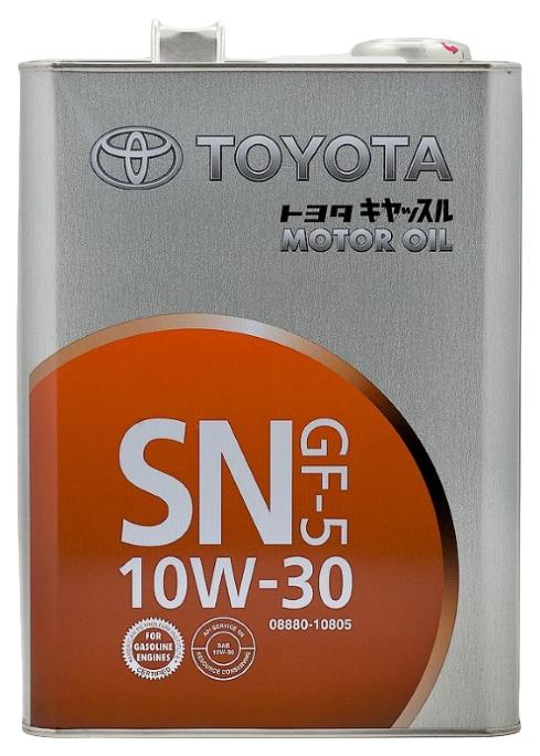 Моторное масло Toyota SN 10W-30 4л