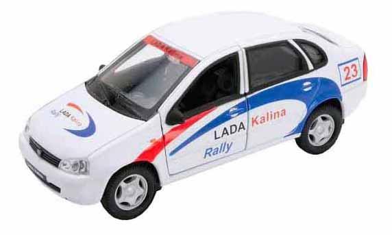 Купить Модель машины Welly 42383RY 1:34-39 LADA Kalina Rally, Спецслужбы