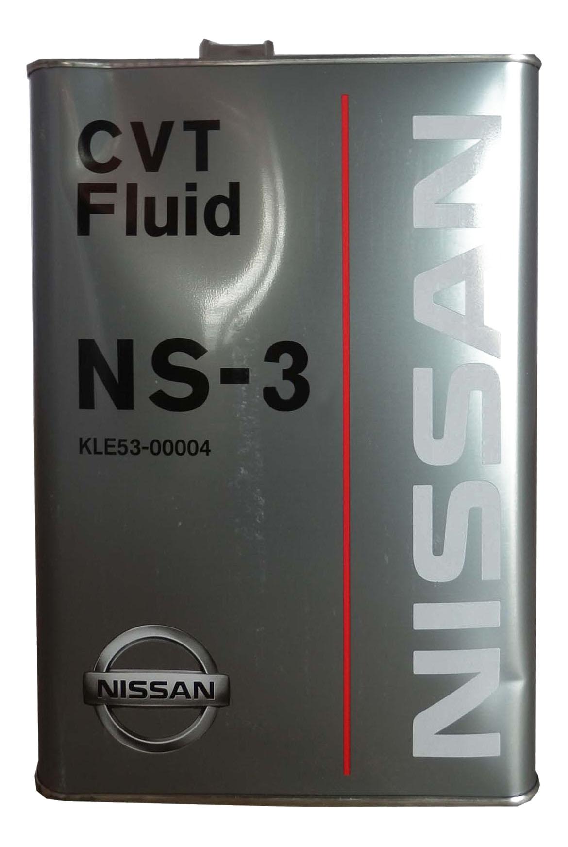 Трансмиссионное масло Nissan 4л KLE53 00004