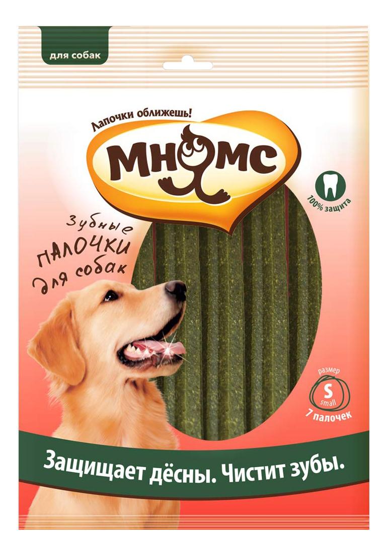 Лакомство для собак Мнямс Зубные палочки-звезды, размер S, 12см, 7шт, 165г