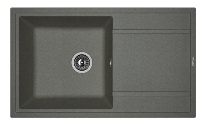 Мойка для кухни гранитная Florentina Липси 860 черный