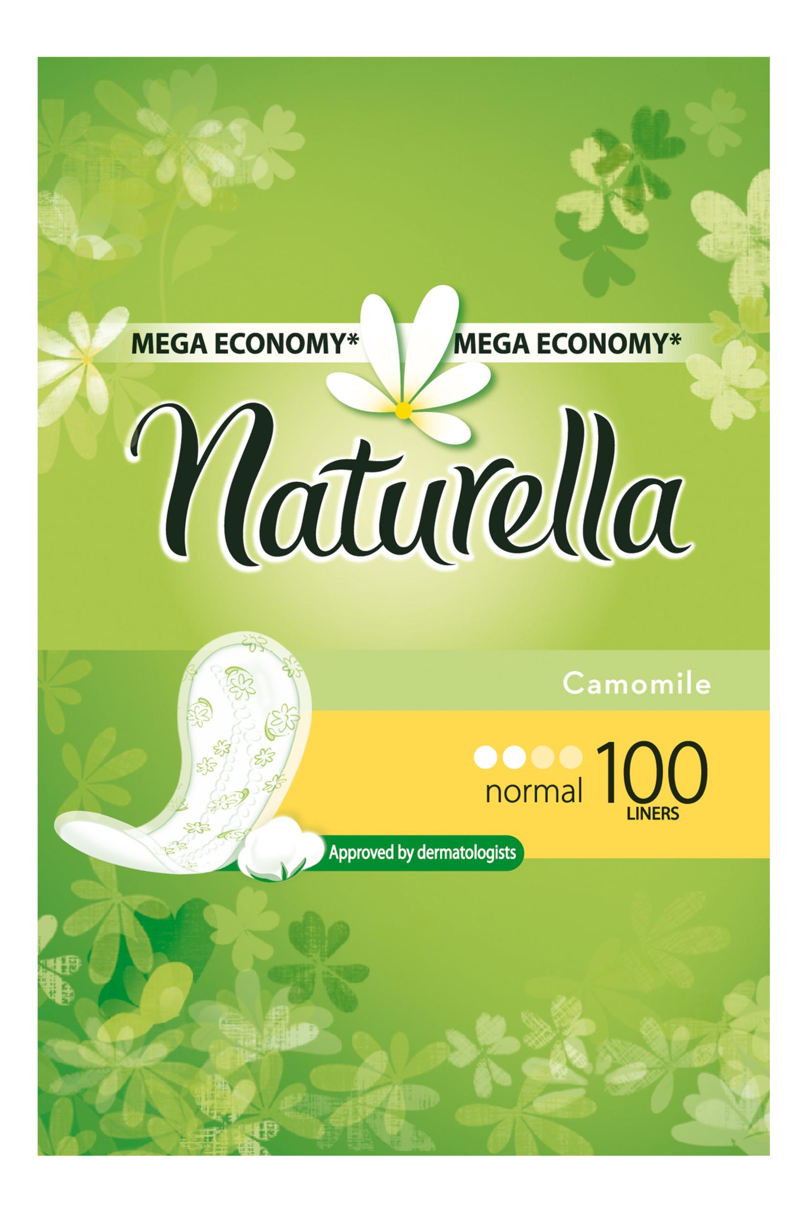 Прокладки Naturella ежедневные Camomile Normal Deo 100шт фото