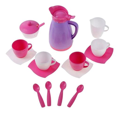 Набор посуды игрушечный Полесье Алиса Pretty Pink
