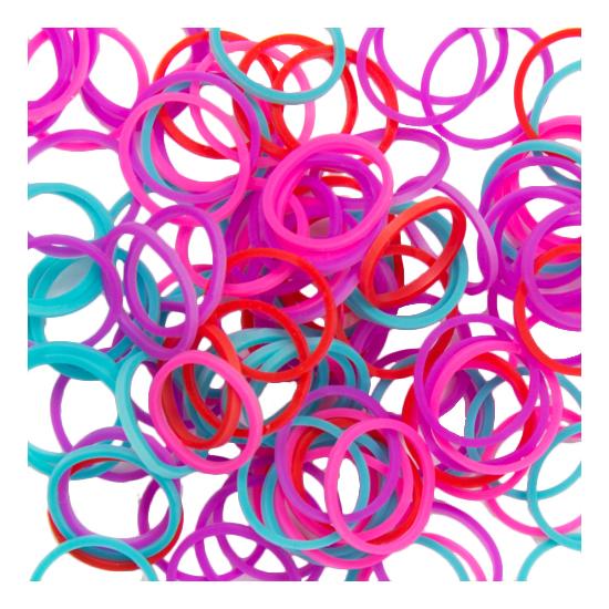 Плетение из резинок Rainbow Loom Silicone Bands - Mixed Mermaid