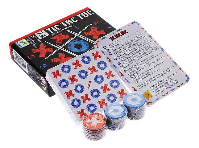Купить Семейная настольная игра Djeco Tic Tac Toe, Семейные настольные игры