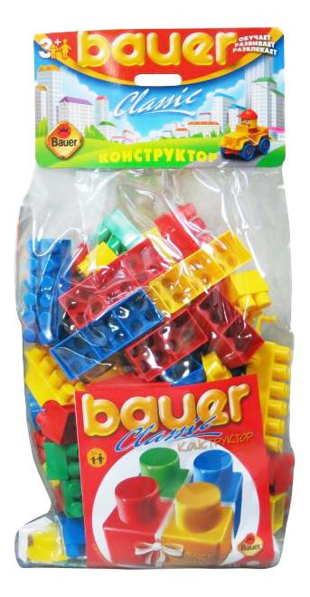 Купить Классик, Конструктор пластиковый Bauer Classic 101 деталь, Конструкторы пластмассовые