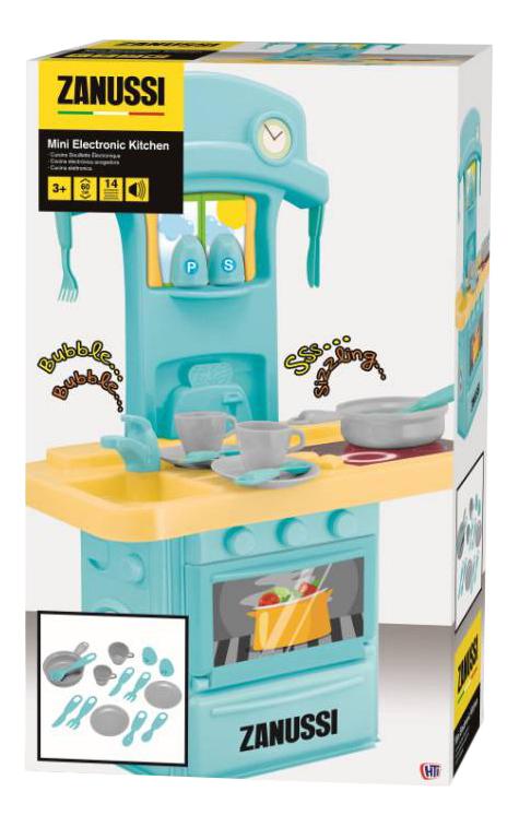 Детская кухня HTI Электронная мини кухня Zanussi