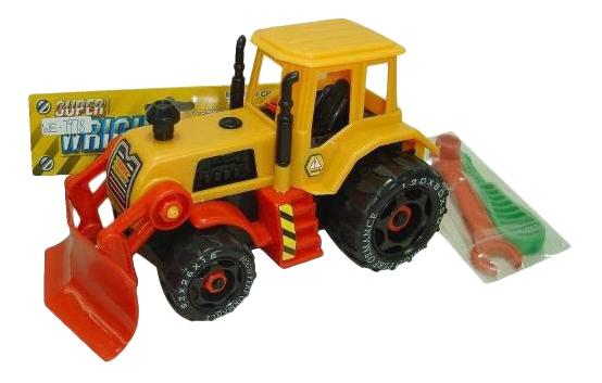 Бульдозер Junfa Toys фото