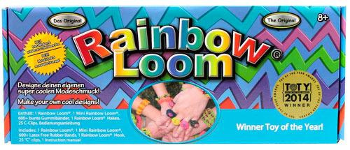 Набор для плетения браслетов RAINBOW LOOM R0001 (628)