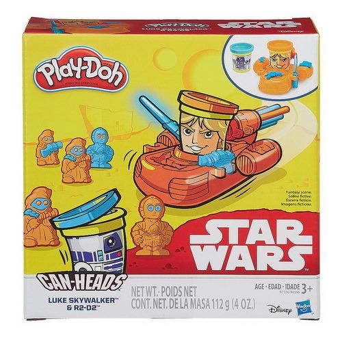 Игровой набор с пластилином PLAY DOH Герои