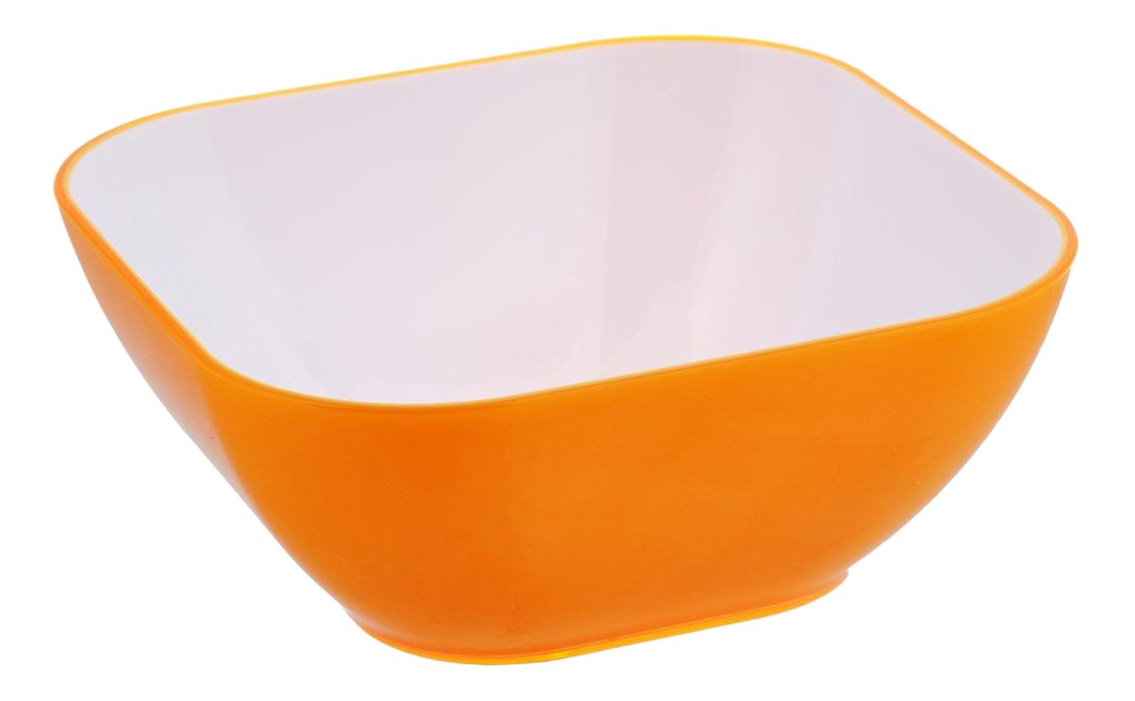 Салатник Bradex 25 см квадратный оранжевый