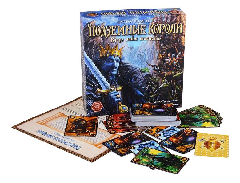 Купить Семейная настольная игра Правильные игры Подземные короли, ПравильныеИгры, Семейные настольные игры