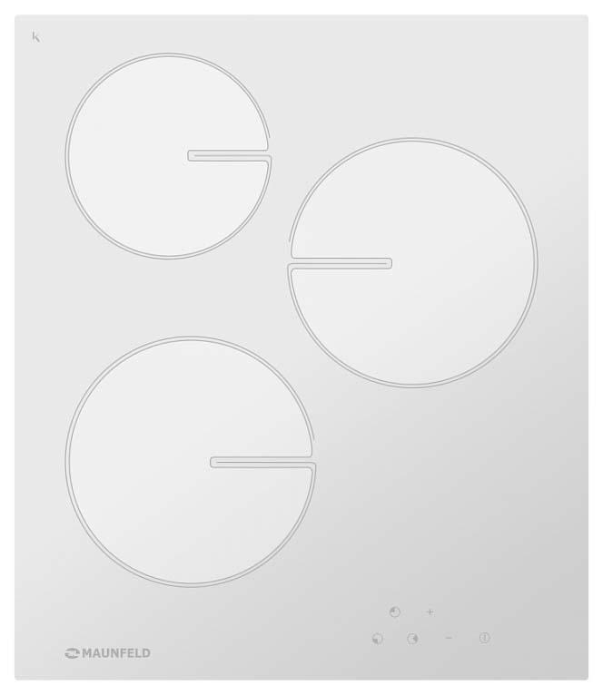 Встраиваемая варочная панель электрическая MAUNFELD MVCE45.3HL.SZ