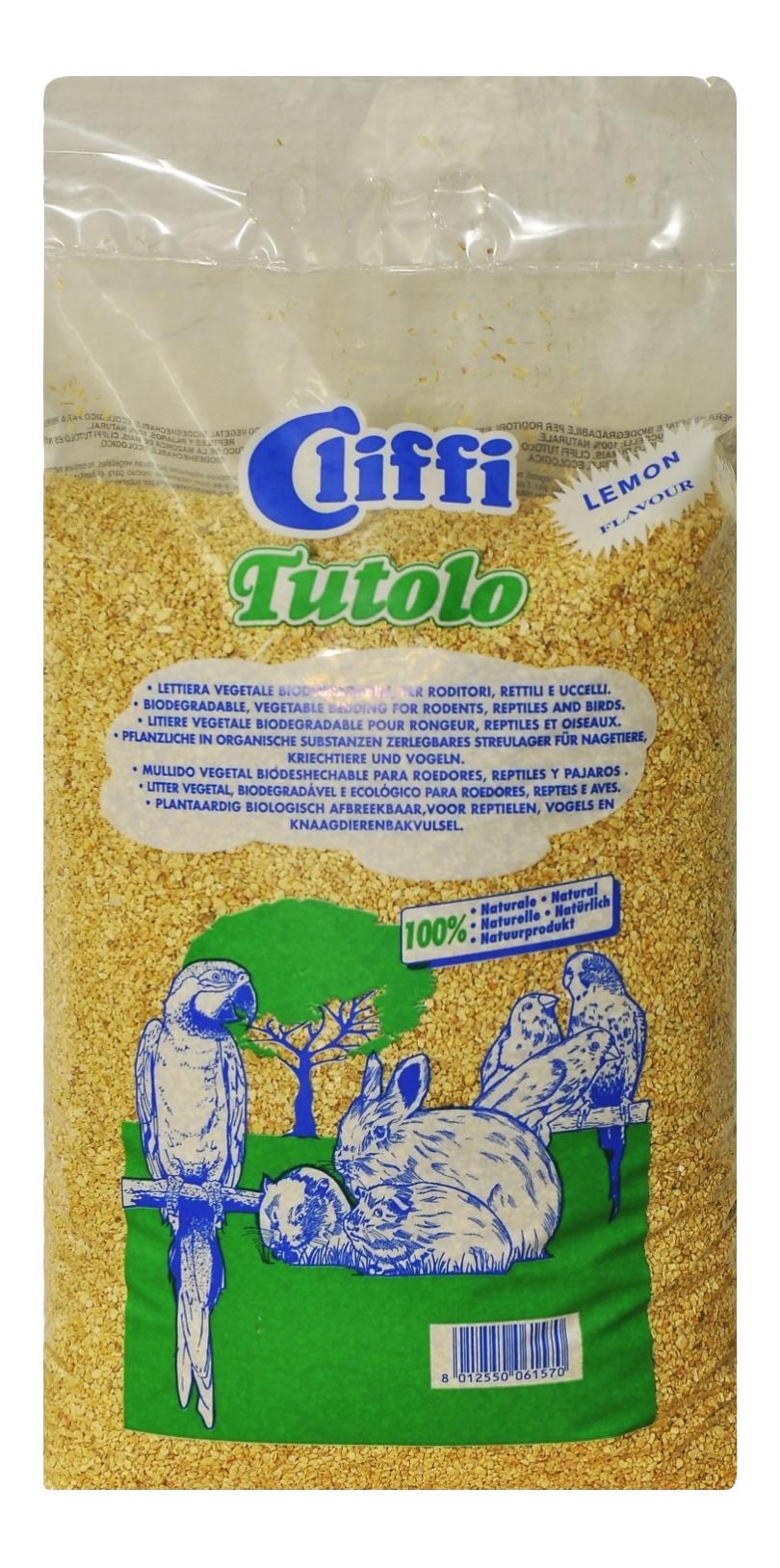 Cliffi Кукурузный наполнитель Цитрус для грызунов, 4,5кг