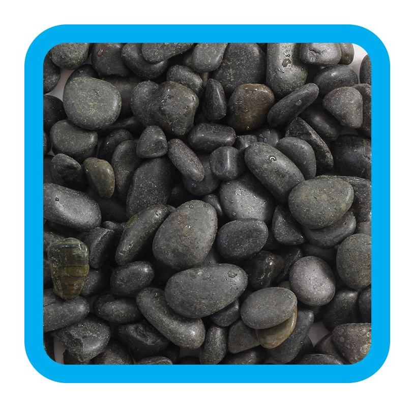 Triol Грунт 10105A Галька речная коричневая 5-10 мм, 2 кг