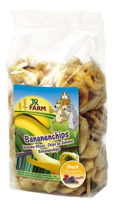 Лакомство для грызунов JR Farm Banana Slices, 150г