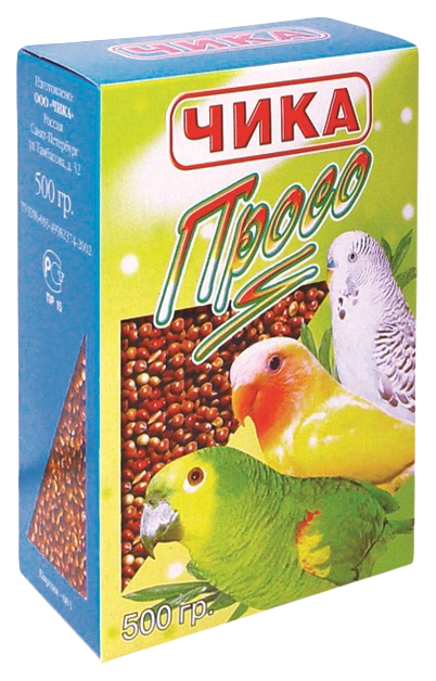 Подкормка Чика для любых птиц 500 г,
