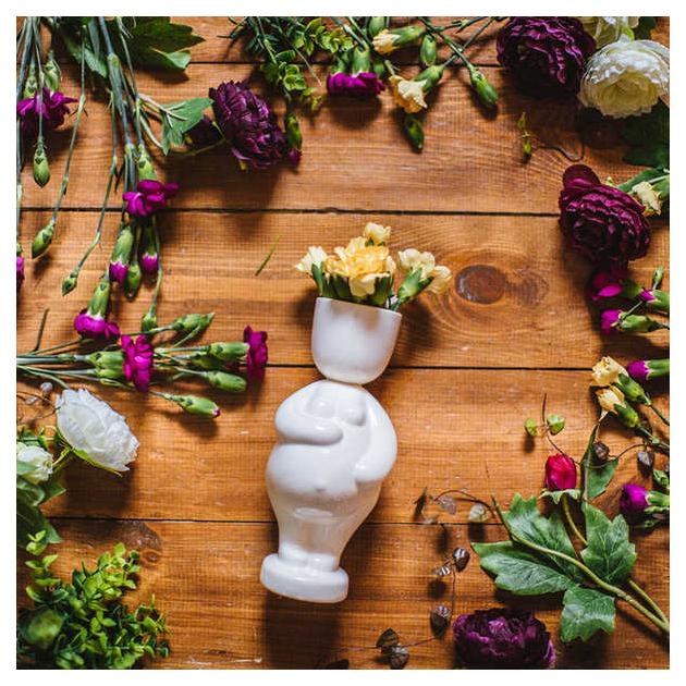 Горшок цветочный Экочеловеки 1006 0.1 л