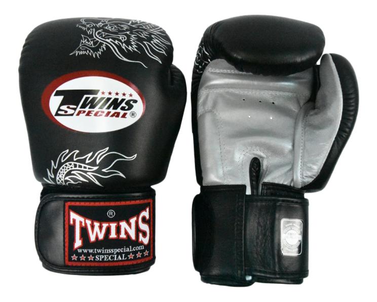 Боксерские перчатки Twins Special FBGV 6S черные